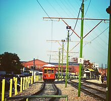 new Orleans Streetcars by Ashlee Betteridge