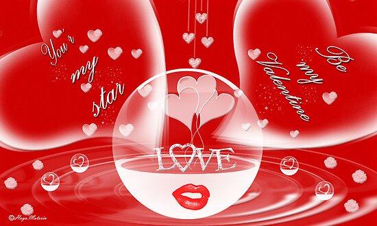 Valentines Day Card~~Be my valentine by haya1812