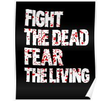 Walking dead - Fight the dead, fear the living Poster