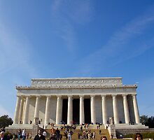 Lincoln Memorial, Washington DC by Ashlee Betteridge