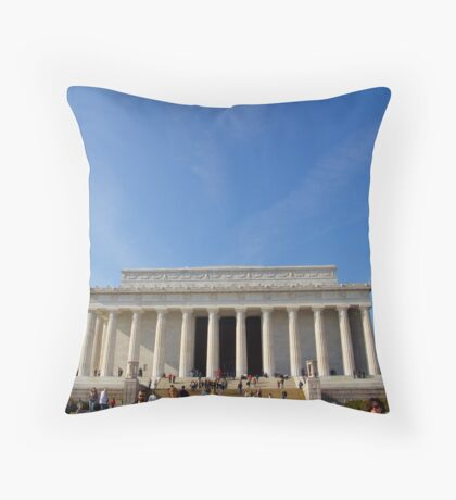 Lincoln Memorial, Washington DC Throw Pillow
