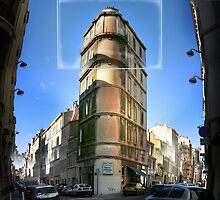 Corner Marseilles France by Catherine Ames