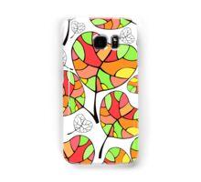 Leaves. Multi-colored leaf. Samsung Galaxy Case/Skin
