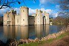 Bodium Castle: East Sussex, UK. by DonDavisUK
