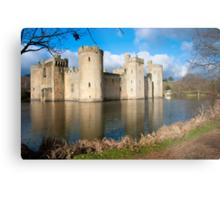 Bodium Castle: East Sussex, UK. Metal Print
