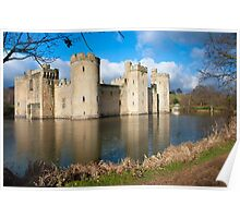 Bodium Castle: East Sussex, UK. Poster