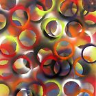 Ellipse  24 x 60  Spray Paint  2010  by Eric Leppanen