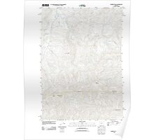 USGS Topo Map Oregon Prairie Peak 20110831 TM Poster