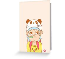Grumpy /Anime Lover Greeting Card