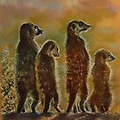 Kalahari Assembly - meerkats at home by pattiejo