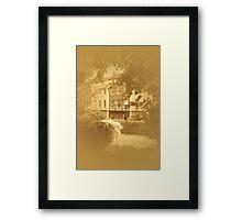 Clifton, Bristol, U/K Framed Print