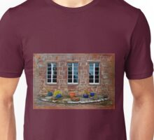 Delgatie Castle From the Backyard (near Turriff, in Aberdeenshire, Scotland) Unisex T-Shirt