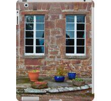 Delgatie Castle From the Backyard (near Turriff, in Aberdeenshire, Scotland) iPad Case/Skin