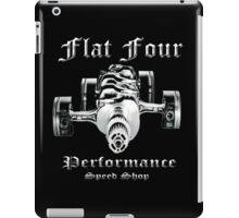 Flat Four Performance dark background iPad Case/Skin