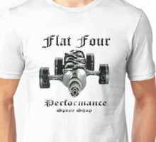 Flat Four Performance light background Unisex T-Shirt