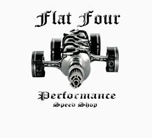 Flat Four Performance light background Unisex T-Shirt