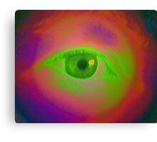 Green-Eyed & Envious Canvas Print
