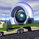 A Heavy Transport by Sazzart