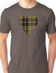 00173 Cornish National (English District) Tartan  Unisex T-Shirt