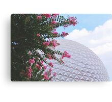 Grand And Miraculous Spaceship Canvas Print
