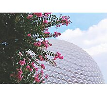 Grand And Miraculous Spaceship Photographic Print