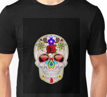 mexican sugar skulls Unisex T-Shirt