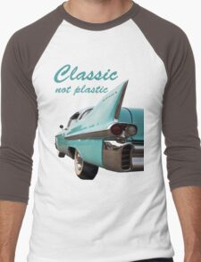 Classic _  not plastic Men's Baseball ¾ T-Shirt