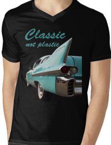 Classic _  not plastic Mens V-Neck T-Shirt