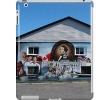 Hockey History Don Cherry Building Mural iPad Case/Skin