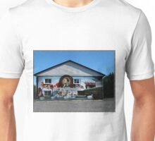 Hockey History Don Cherry Building Mural Unisex T-Shirt