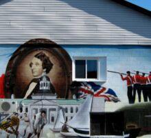 Hockey History Don Cherry Building Mural Sticker