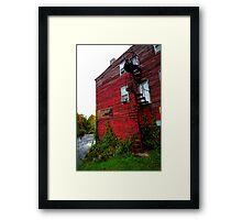 Salmon River Sport Shop - Pulaski, NY Framed Print