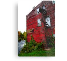 Salmon River Sport Shop - Pulaski, NY Metal Print