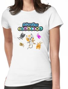 Kitten Juggling - Logo T-Shirt Womens Fitted T-Shirt