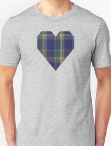 00178 Manx National Tartan  Unisex T-Shirt