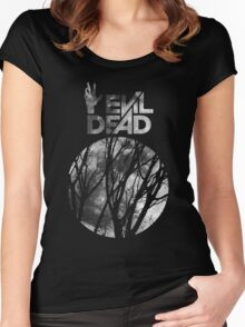 A Pale Moon Rises Women's Fitted Scoop T-Shirt