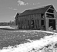 Wooden Barn 1 by RobertSander