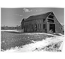 Wooden Barn 1 Poster