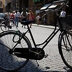 cityscapes #179, street bike by stickelsimages