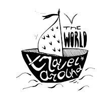 Travel around the world. Travelling so inspiring! by Polanika