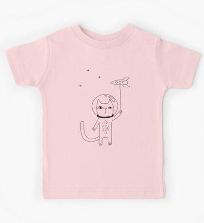 Space Cat Kids Tee