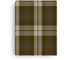 00181 Snaefell District or Baillie Dress Clan/FamilyTartan  Canvas Print