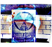 inverted Atomic Sky Poster