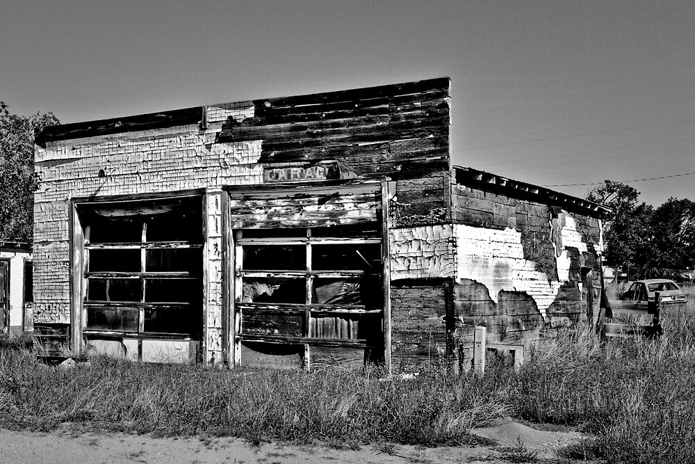 MUST BE A GARAGE IT SAYS SO by Thomas Barker-Detwiler