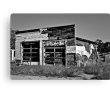 MUST BE A GARAGE IT SAYS SO Canvas Print