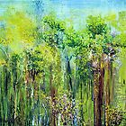 Edge of Eden, oil on canvas by Regina Valluzzi