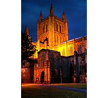Hereford Cathedral Photographic Print