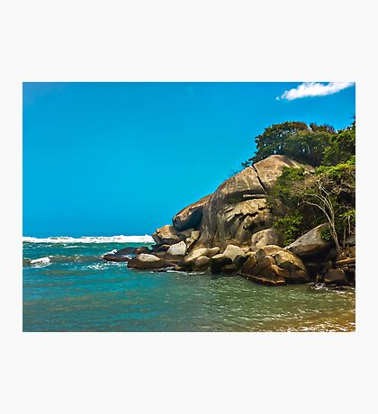 Tropical Beach of Tayrona National Park Photographic Print