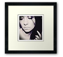 You Found Me Framed Print
