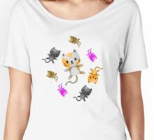 Kitten Juggling - Cats T-Shirt Women's Relaxed Fit T-Shirt